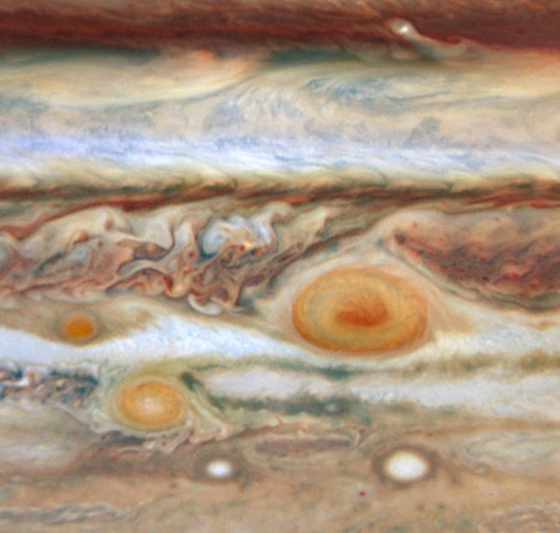 Scary space, Jupiter's Red Spot