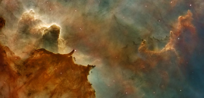 Space 2000, Carina Nebula Detail