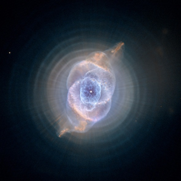 Space light, Cat's Eye Nebula