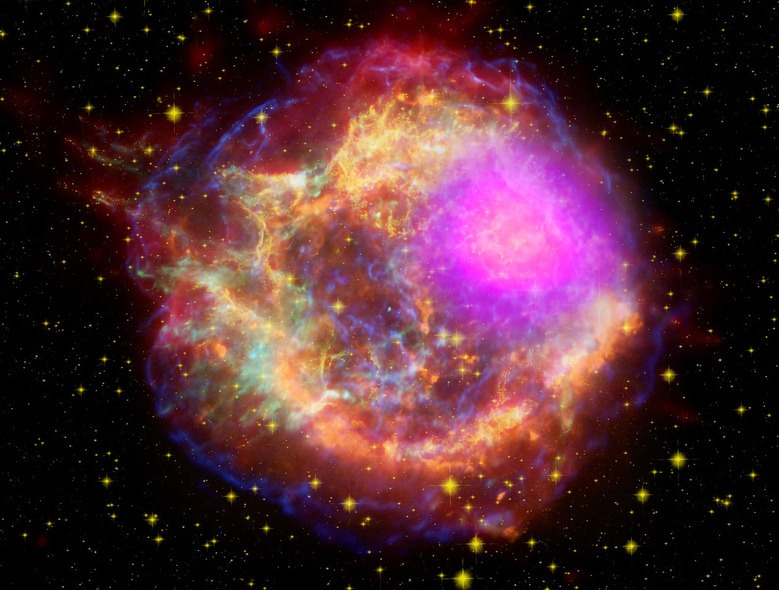 Space on fire, Cassiopeia A Supernova
