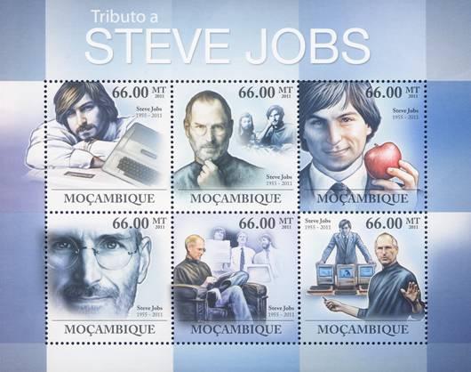 Steve Jobs timeline stamp, Steve Jobs postage stamp