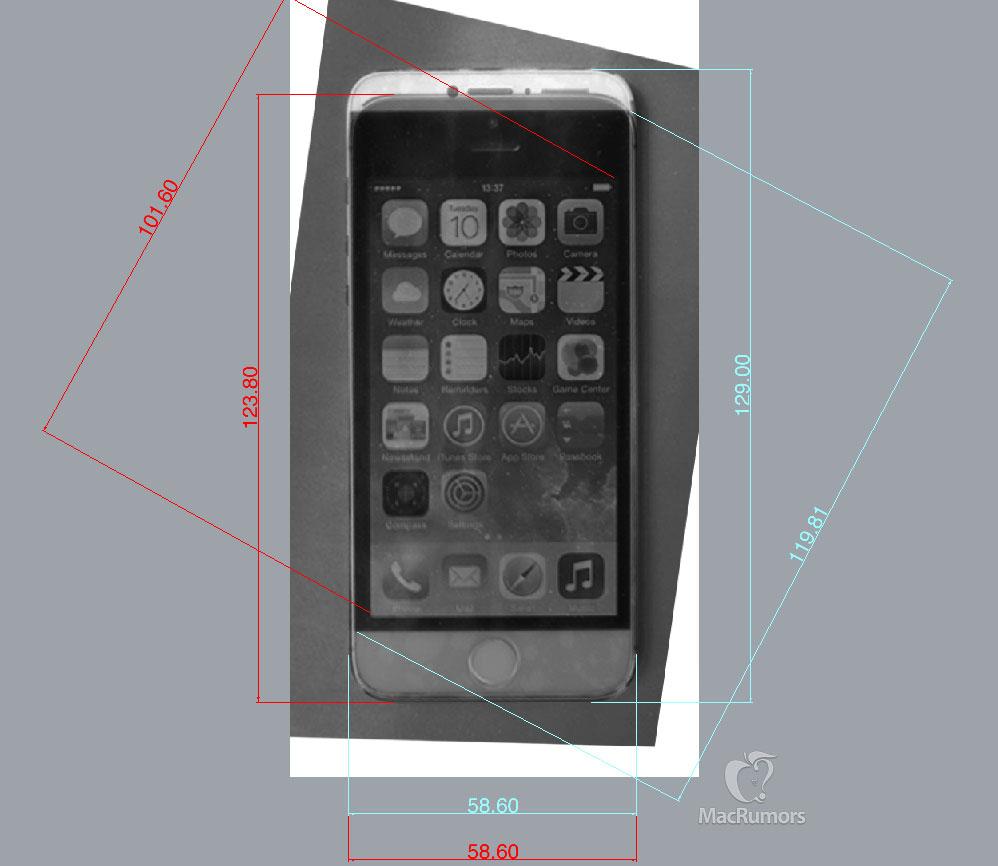 iPhone 6 prototype display, Alleged iPhone 6