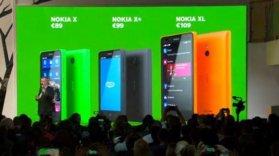 Nokia X family, Nokia X family mwc 2014, mobile world congress 2014 nokia