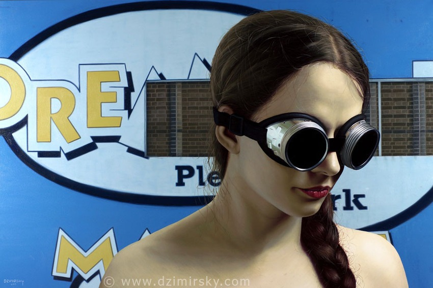 Advanced Tech, Photorealistic Portraits, Photorealistic Portraits by DIRK DZIMIRSKY