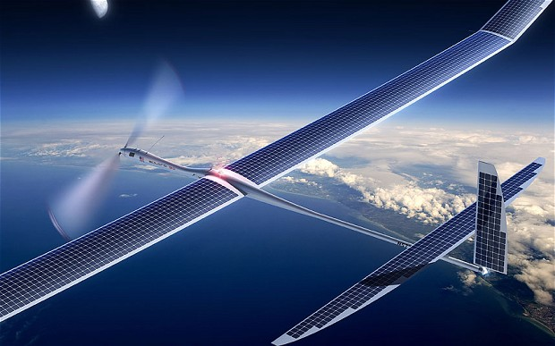 Facebook To Provide Free Internet Around The World Using Solar-powered Drones 1
