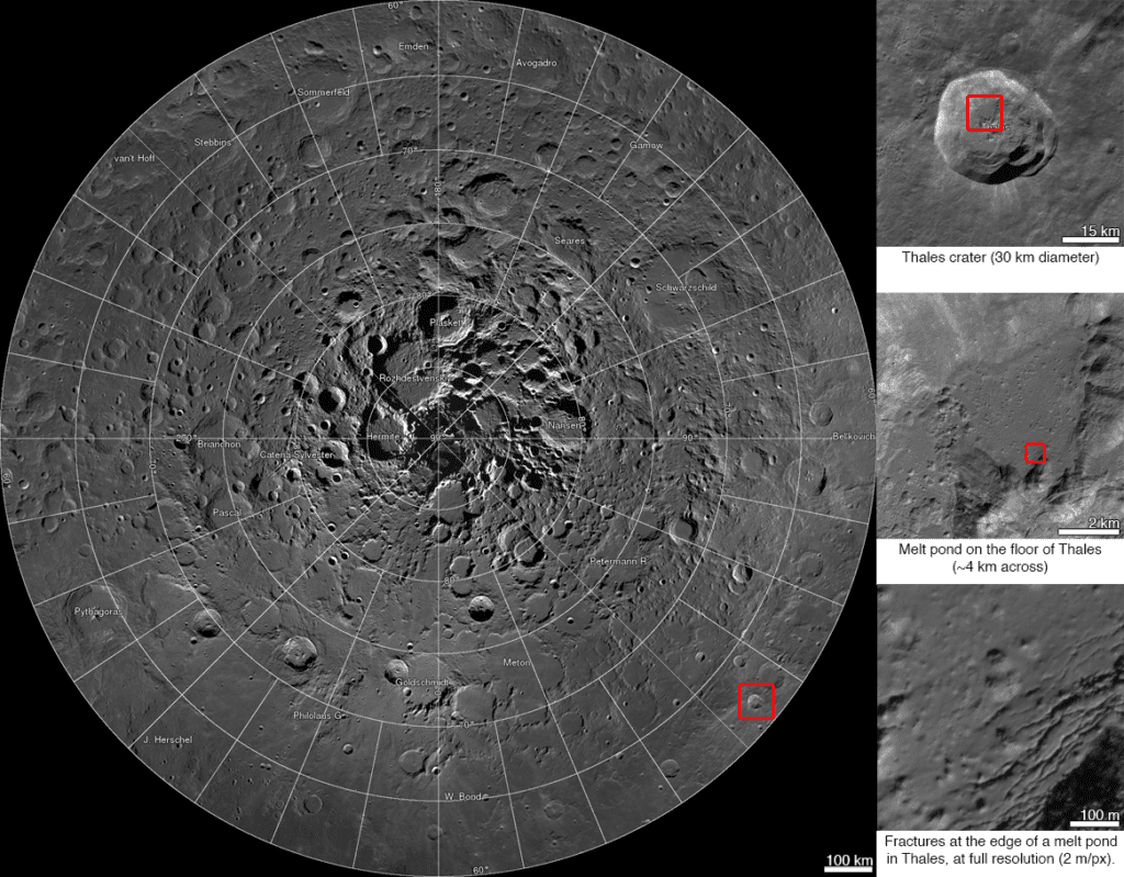 NASA image, NASA, NASA, Lunar Reconnaissance Oribter, Lunar North Pole, science, inventions, discoveries, photography