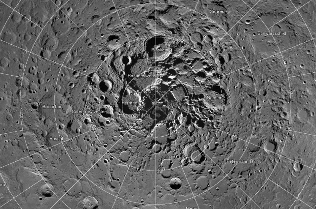 NASA Releases 681 Gigapixel Interactive Map of Lunar North Pole 1