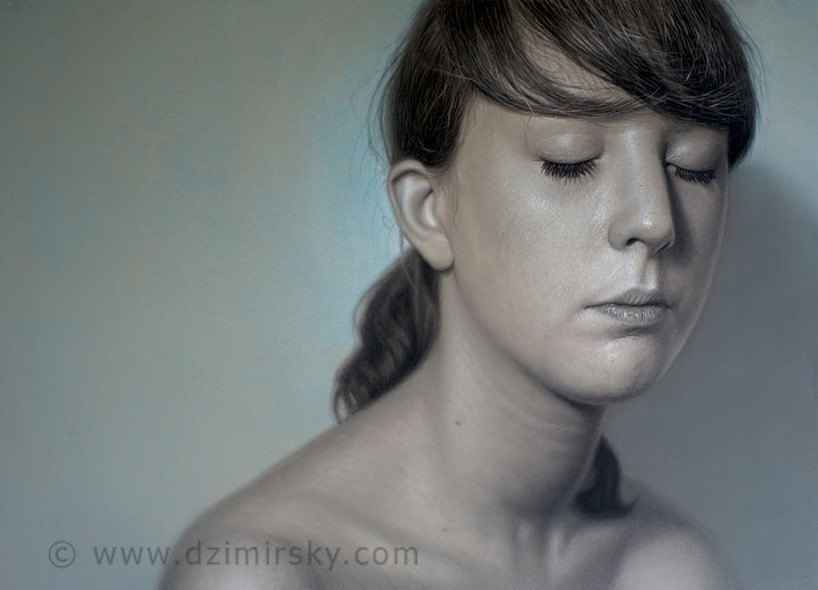 Sleep, Photorealistic Portraits, Photorealistic Portraits by DIRK DZIMIRSKY
