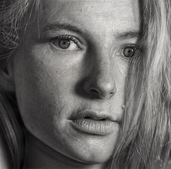 Photorealistic Portraits, Photorealistic Portraits by DIRK DZIMIRSKY