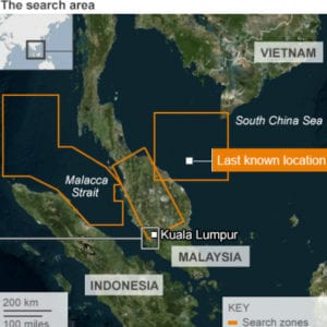Search Teams Searched the Wrong Area for 5 Days, map