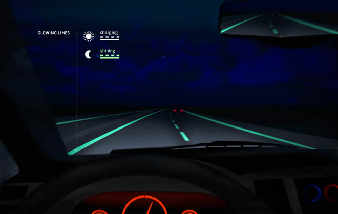 Glow-in-the-Dark Roads Now a Reality 1