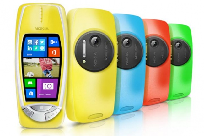 Nokia 3310 Makeover Announced With Windows Phone, 41MP PureView Camera