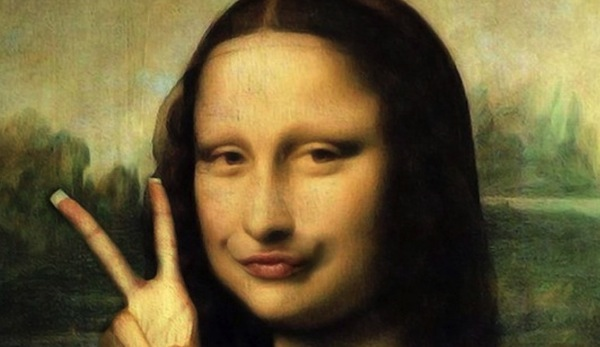 Selfie illness, monalisa, monalisa pictures, monalisa selfie