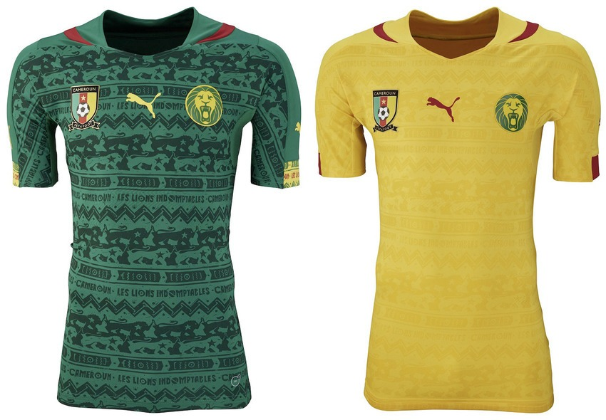 Cameroon world cup jersey