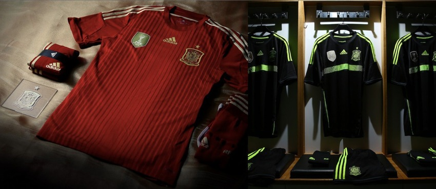 Spain world cup jersey