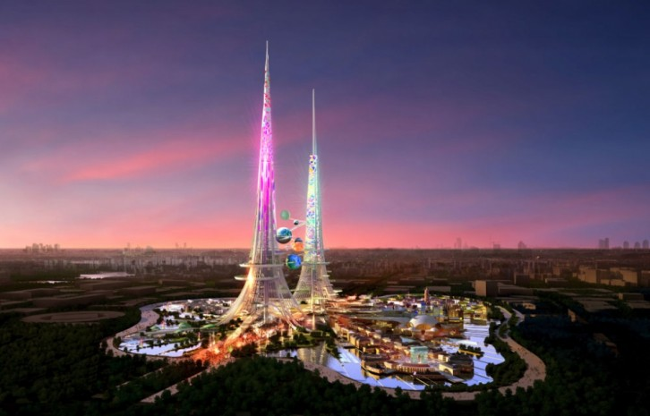Phoenix Towers: World's Tallest Pair of Towers To Be Built in Wuhan, China 1
