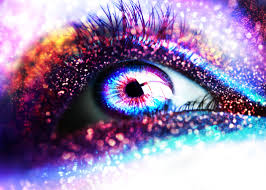 Glitter, Glittering eyes