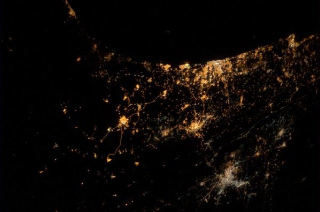 Astronaut Captures Explosions Over Israel And Gaza From Space