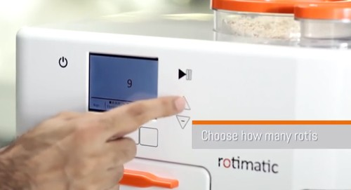 Rotimatic – Introducing World's First Automatic Roti Maker 1
