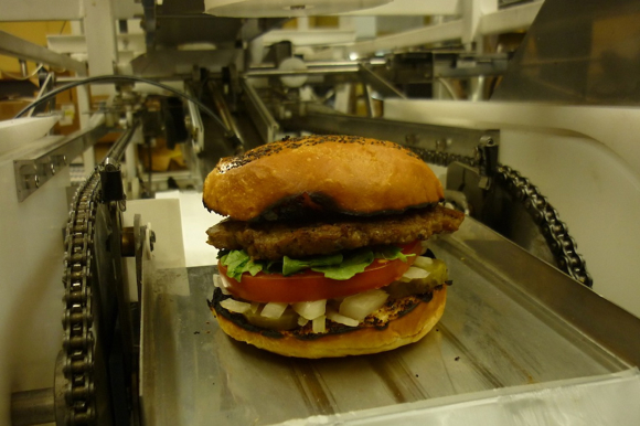 This Robot Makes One Hamburger Every 10 Seconds