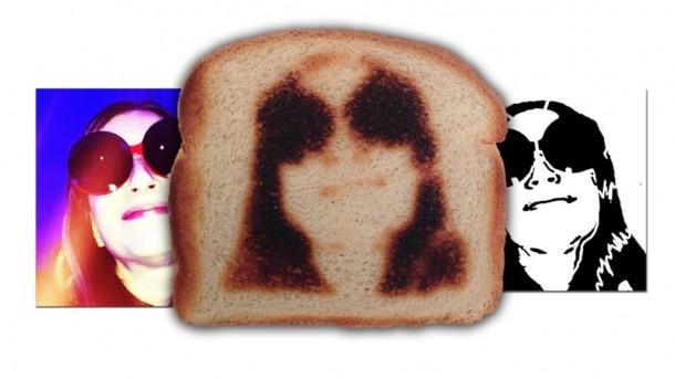 Selfies toaster
