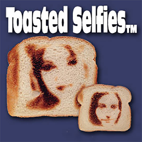Selfie Toaster Will Let You Eat Your Face On Toast, Every Morning 1
