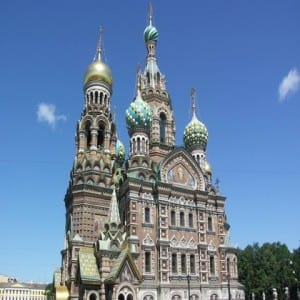 Church of Our Saviour on Spilled Blood, St. Petersburg, Russia