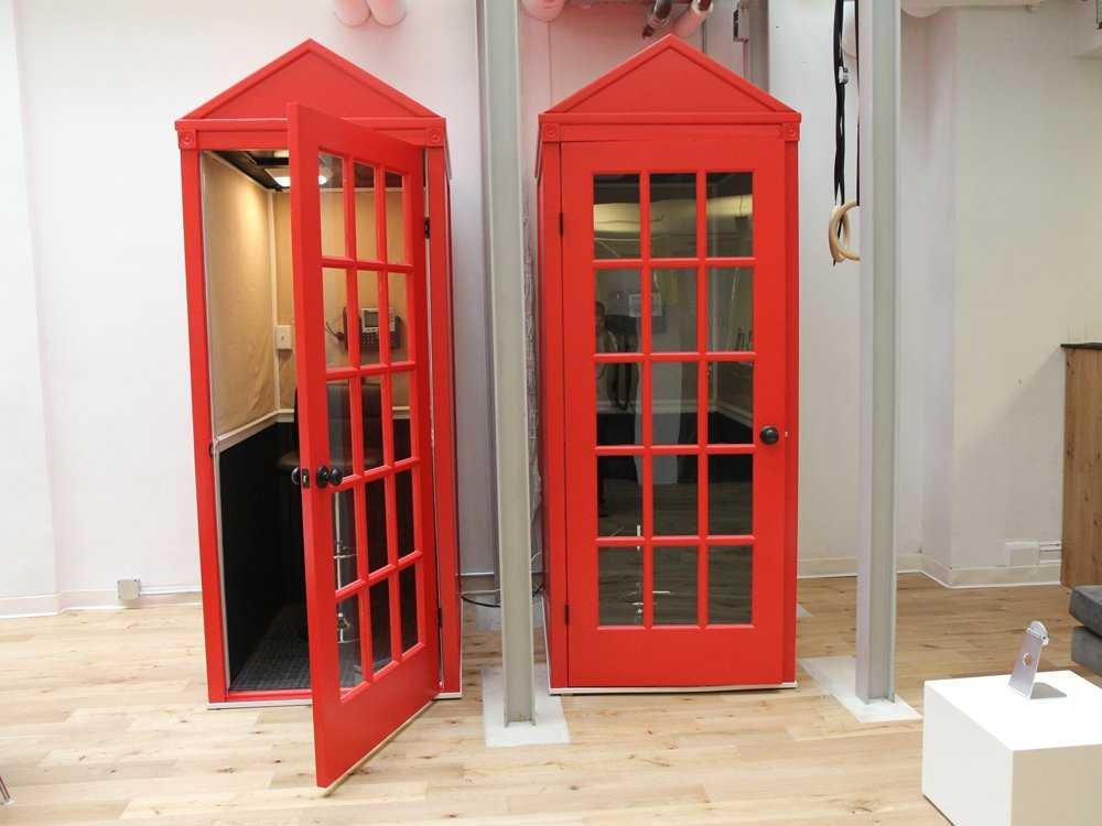 foursquare british style phone booths