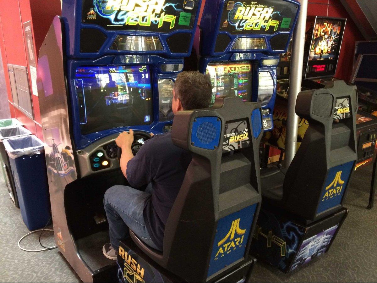 linkedin arcade room for employees