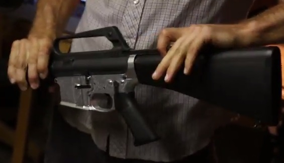 The Assault Rifle You Can Make At Home, For A Mere $1,200 1