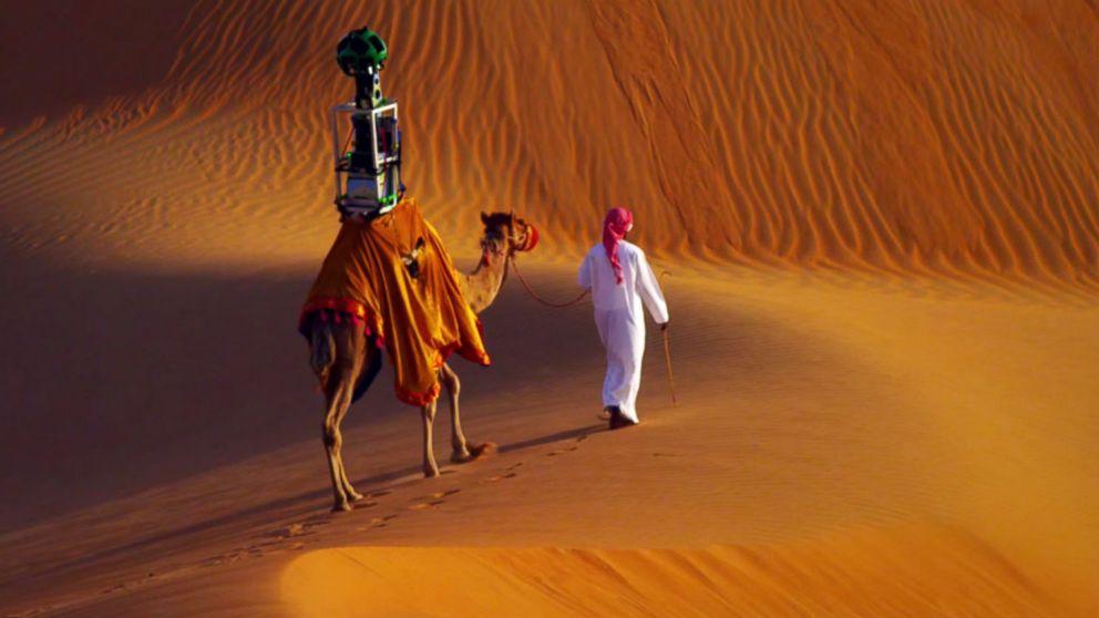 google camel, camel street view