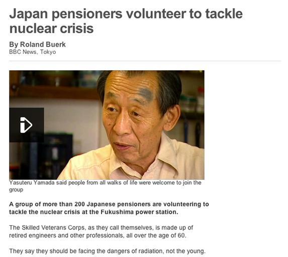 Japanese pensioneers