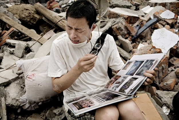 Sichuan earthquake in China
