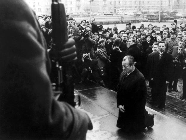 German Chancellor Willy Brandt