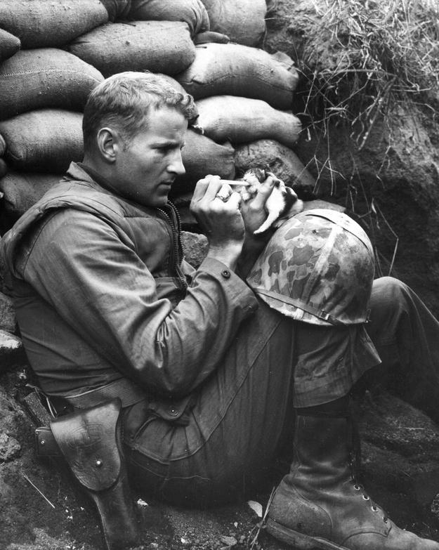 Marine Sergeant Frank Praytor