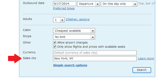 You Can Book Cheaper Plane Tickets By Using a 'Fake' Location 1
