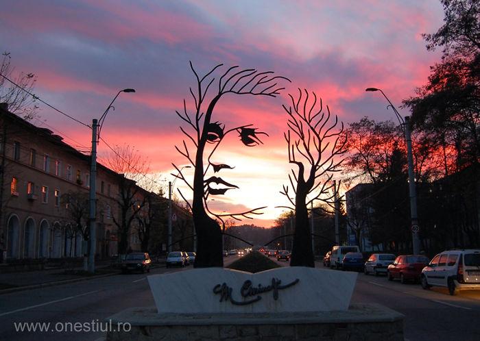 Mihai Eminescu Sculpture