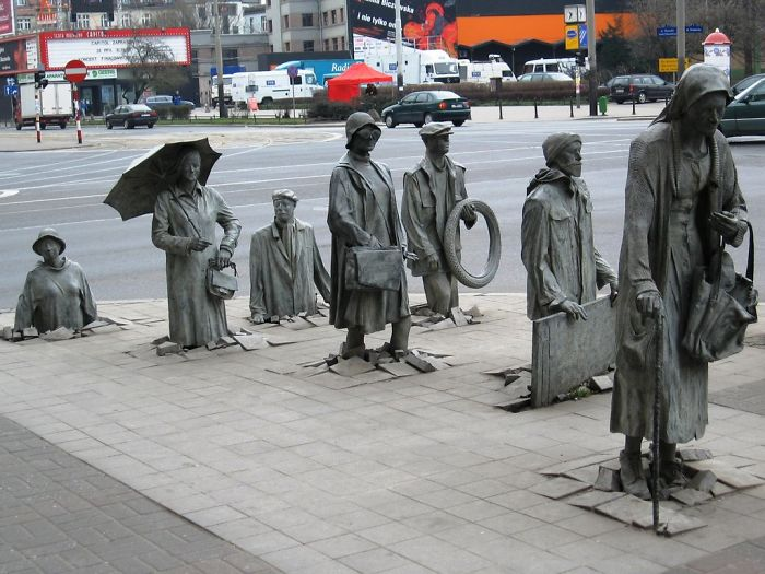 Passer-by, passer by sculpture