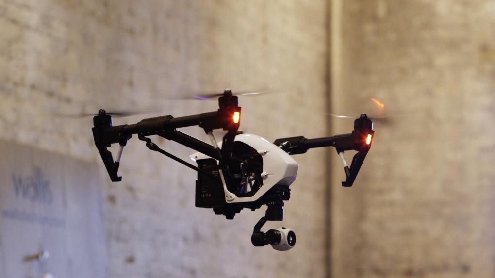 DJI Inspire 1 drones