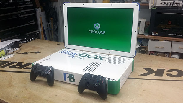 PlayBox Mod Combines Xbox One And PS4 Into A Single Laptop, Ends Console War 1