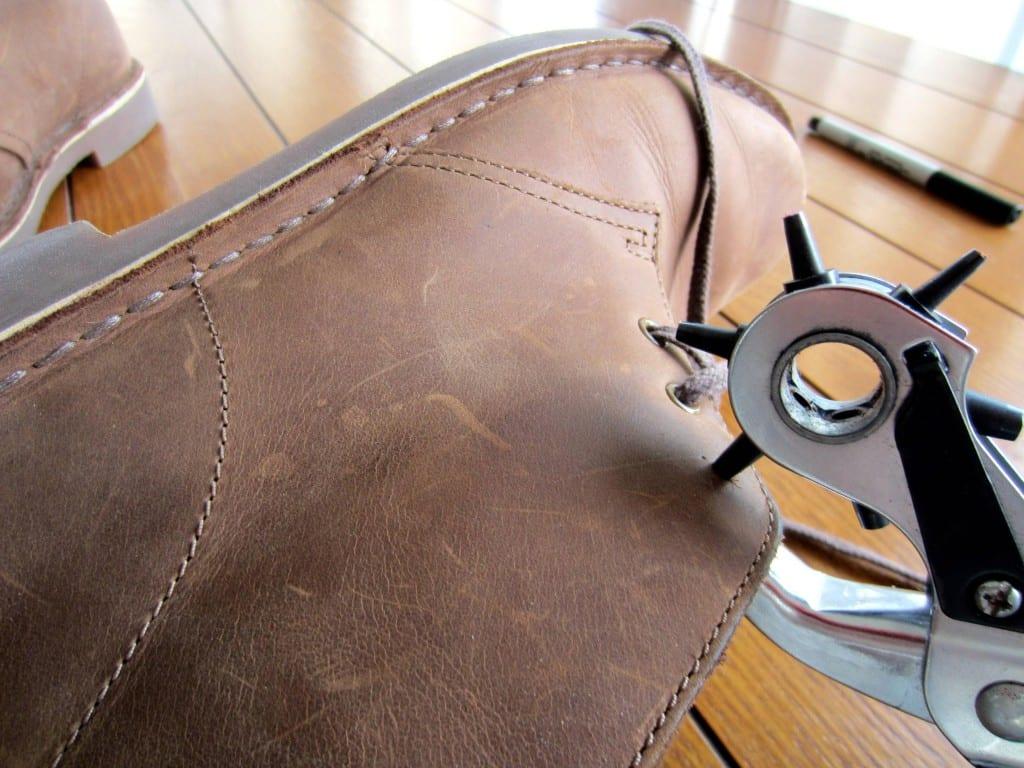 Shoe eyelets, DIY, fashion tricks, fashion tips for men, fashion tricks for men, men fashion tips, men fashion tips, men fashion tricks