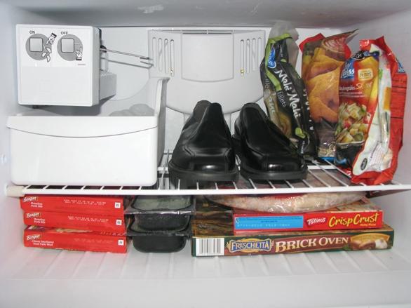 Shoes in freezer, DIY, fashion tricks, fashion tips for men, fashion tricks for men, men fashion tips, men fashion tips, men fashion tricks