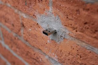Here's Why USB Drives Are Sticking Out In Walls All Across New York 1