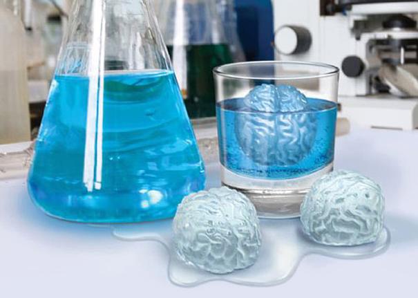 Brain freeze icy mold