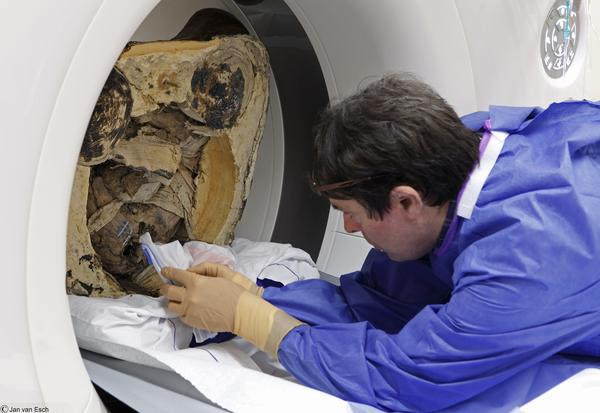 Buddhist mummy