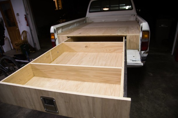 Drawer out