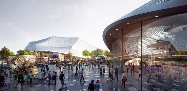 Google's Crazy New Campus Is Something Out Of A Sci-fi Movie [Photos] 1