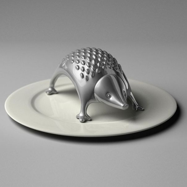 Hedgehog the cheese grater