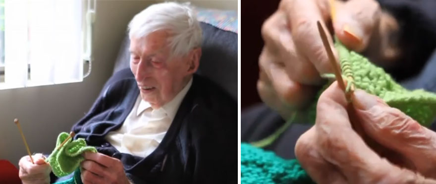 Australia's Oldest Man Knits Tiny Sweaters For Injured Penguins 1