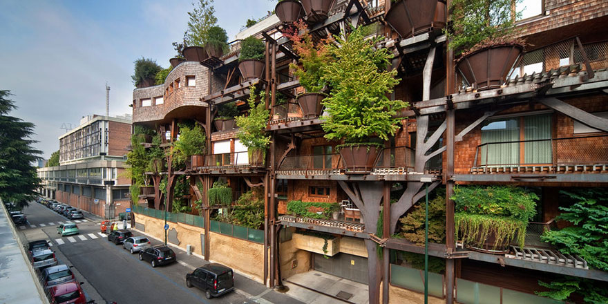 Italy apartment complex
